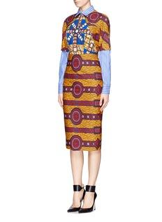 STELLA JEANBarbara' print dress shirt combo