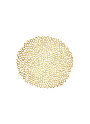 Main View - Click To Enlarge - Chilewich - Dahlia round placemat