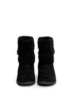 UGG AUSTRALIA'Blayre II' buckle sheepskin boots
