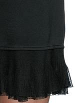 'Torylevina' ruffle knit dress