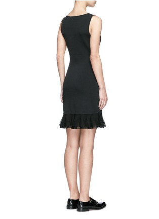 Back View - Click To Enlarge - Theory - 'Torylevina' ruffle knit dress