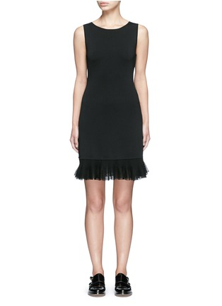 Main View - Click To Enlarge - Theory - 'Torylevina' ruffle knit dress