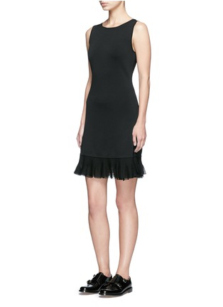 Figure View - Click To Enlarge - Theory - 'Torylevina' ruffle knit dress