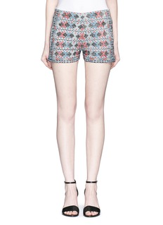 Talitha Diamond embroidered  shorts