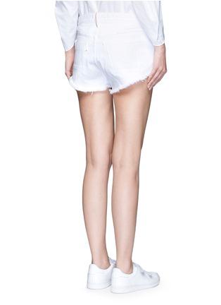 Back View - Click To Enlarge - 3x1 - 'WM5' cutoff denim shorts