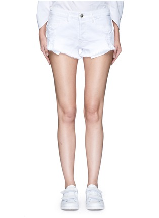 Main View - Click To Enlarge - 3x1 - 'WM5' cutoff denim shorts