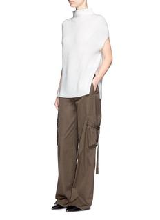 VinceWool-cashmere sleeveless sweater