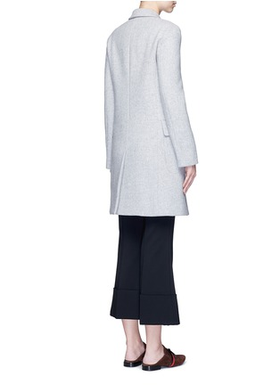 Back View - Click To Enlarge - Stella McCartney - Wool blend felt overcoat