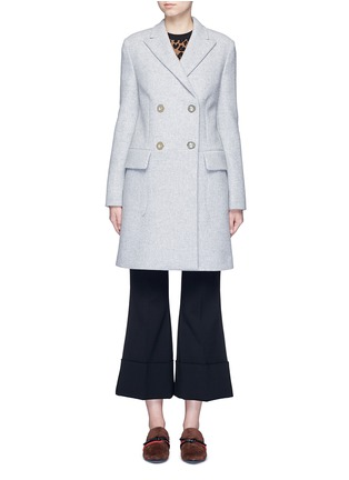 Main View - Click To Enlarge - Stella McCartney - Wool blend felt overcoat