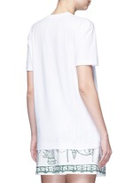 'Ti Amo' lace slogan T-shirt
