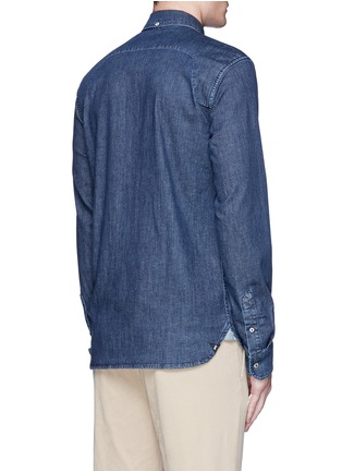 Back View - Click To Enlarge - Denham - 'Rhys' denim shirt