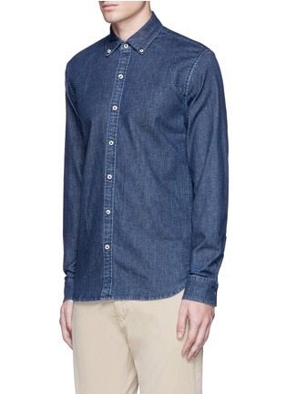 Front View - Click To Enlarge - Denham - 'Rhys' denim shirt