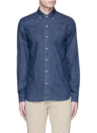 Main View - Click To Enlarge - Denham - 'Rhys' denim shirt