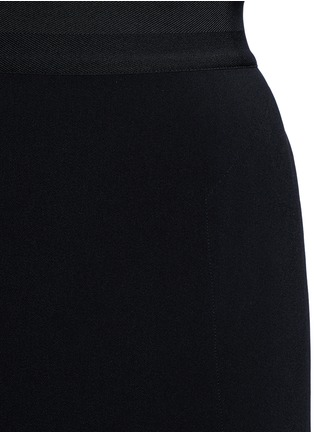 Detail View - Click To Enlarge - Helmut Lang - Side drape stretch maxi skirt