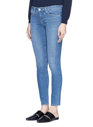 Front View - Click To Enlarge - L'Agence - 'The Chantal' skinny denim ankle grazer pants