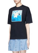 Nirvana CD cover embroidery T-shirt