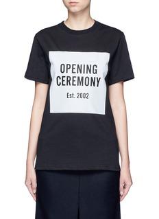 Opening CeremonyOC' mirrored logo T-shirt