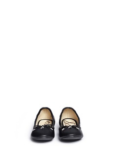 Sam Edelman 'Felicia' faux leather kids ballet flats