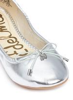 'Felicia' metallic kids ballet flats