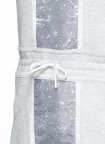 'Tech Fleece Splatter' dress