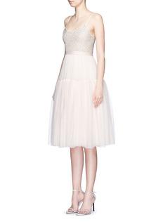 NEEDLE & THREADEmbellished layer tulle dress
