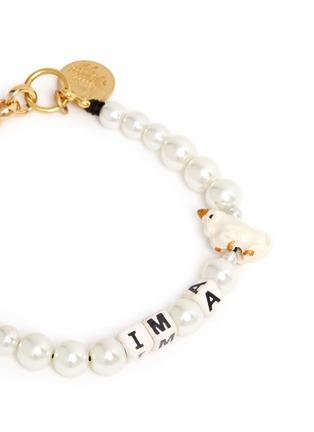 Detail View - Click To Enlarge - Venessa Arizaga - 'I'm A Unicorn' bracelet