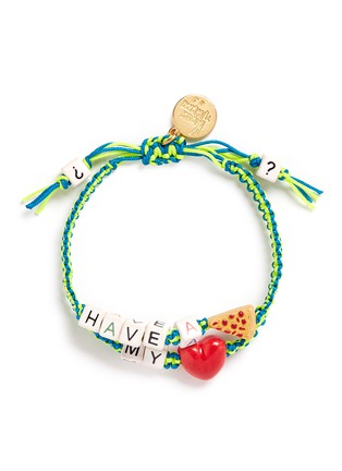 Main View - Click To Enlarge - Venessa Arizaga - 'Have A Pizza My Heart' bracelet