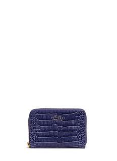 SMYTHSONMara croc effect leather coin purse
