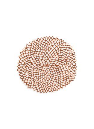 Chilewich-Dahlia round placemat