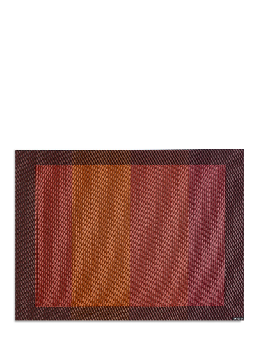 Color Tempo rectangle placemat by Chilewich