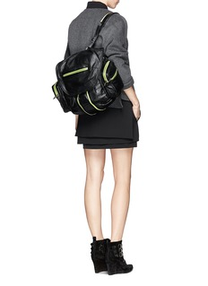 ALEXANDER WANG  'Marti' three-way leather backpack