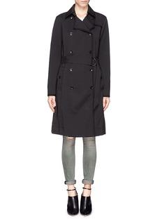 RAG & BONE'Edie' double breasted trench coat