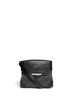 ALEXANDER WANG 'Marion Prisma' leather neoprene crossbody
