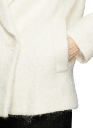 Detail View - Click To Enlarge - Theory - 'Lianamar' felted mohair coat