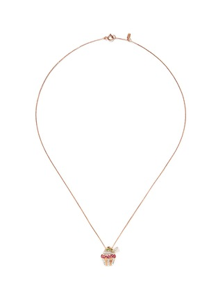 Main View - Click To Enlarge - Bao Bao Wan - Diamond rose gold cupcake necklace