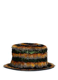 VALENTINO Feather hat