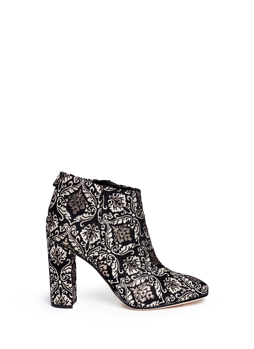 sam edelman female cambell floral damask ankle boots