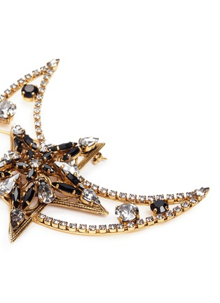 Detail View - Click To Enlarge - Erickson Beamon - x Anna Sui 'American Graffiti' Swarovski crystal brooch