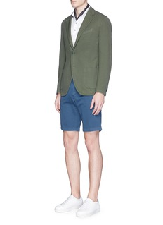 Altea Cotton hopsack soft blazer