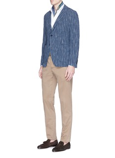 Altea Stripe tweed soft blazer
