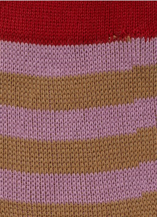 Detail View - Click To Enlarge - HANSEL FROM BASEL - Stripe crew socks