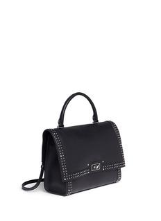 Givenchy'Shark' medium stud leather shoulder bag