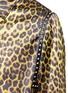 Detail View - Click To Enlarge - Saint Laurent - Stud leopard print Harrington jacket