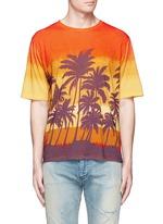 Sunset print T-shirt