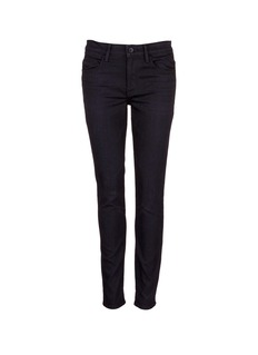 HELMUT LANG Whiskered skinny fit tapered jeans