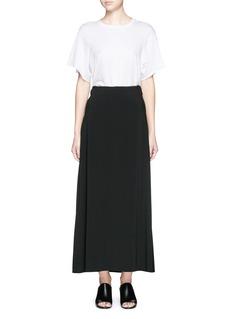 HELMUT LANGRaw edge maxi skirt