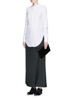 HELMUT LANG'Poplin Tuxedo' cotton shirt