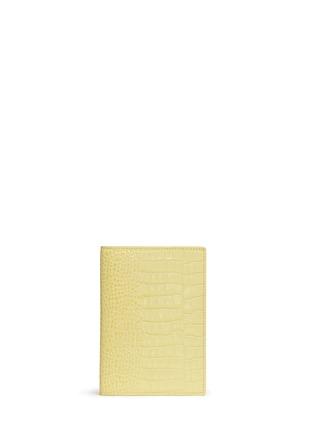 首图 –点击放大 - SMYTHSON - Mara鳄鱼纹护照夹
