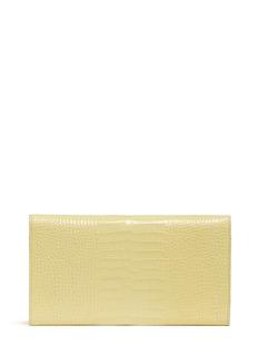 SMYTHSONMara Marshall croc effect leather travel wallet