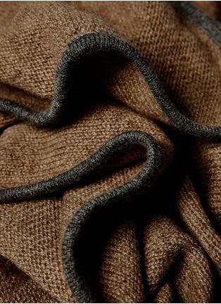 细节 –点击放大 - OYUNA - Daya针织羊绒毯